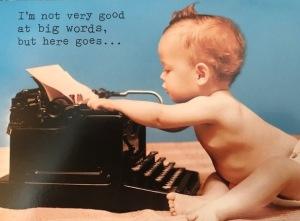 manual typewriter baby